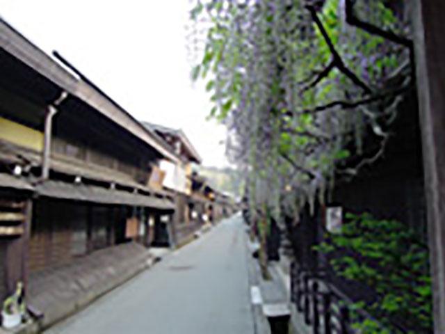江戸時代の面影を残す「古い町並」