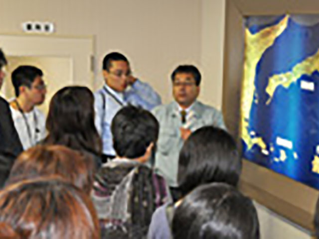 昭和60年から、毎年開催されている「念法青少年による北方領土視察研修」