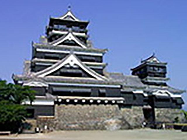 日本三名城のひとつ、熊本城