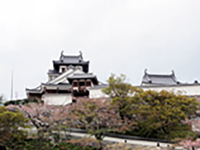天正7年に明智光秀によって建てられた福知山城