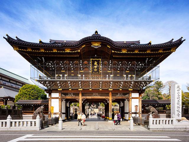 外国人観光客にも人気の高い成田山新勝寺