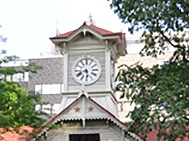札幌のランドマークともいえる時計台
