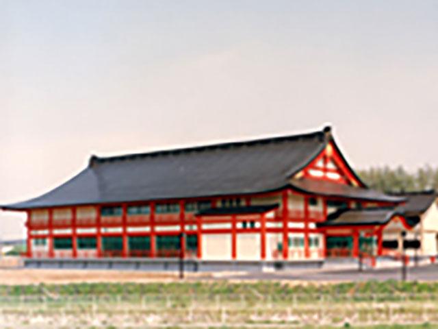 全国に先駆けて、大規模道場が建立された札幌念法寺