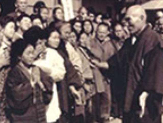 昭和45年頃五十猛教会にて