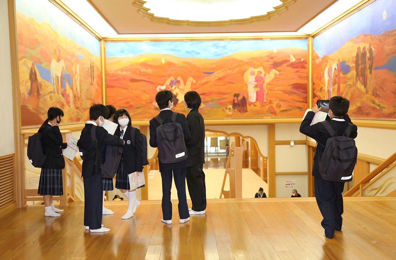 「校外学習」大阪市立茨田中学校
