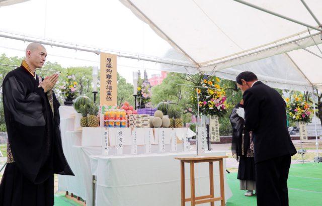 7月:長崎原爆殉難者慰霊祭
