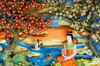 桜咲く、総本山金剛寺