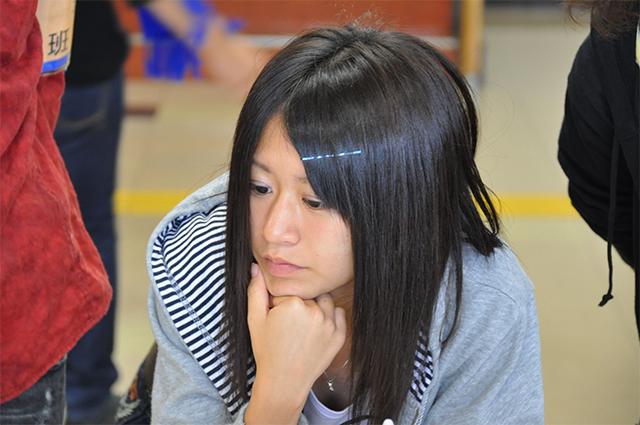神戸念法寺:平塚 志織 (18歳/高3)