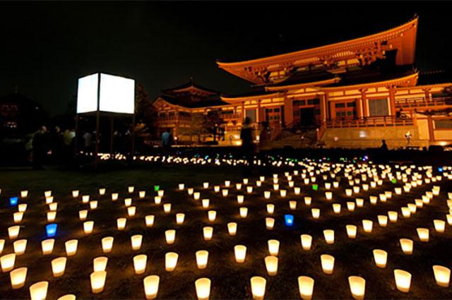 ほの灯り金剛寺2009