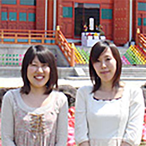 左:島村侑里さん(神戸念法寺)/右:芦田晶子さん(神戸念法寺)